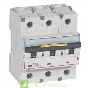 DX3 3P C100 10000A/16KA 409281 Legrand Disjoncteurs PH+N