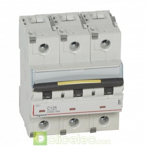 DX3 3P C125 10000A/16KA 409282 Legrand Disjoncteurs PH+N
