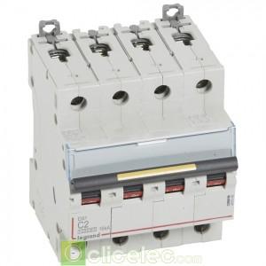 DX3 4P C2 10000A/16KA 409348 Legrand Disjoncteurs PH+N
