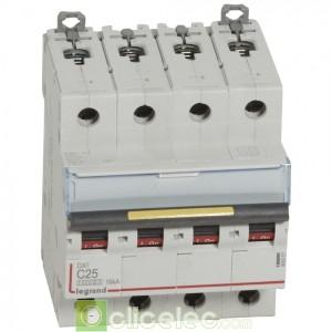 DX3 4P C25 10000A/16KA 409357 Legrand Disjoncteurs PH+N