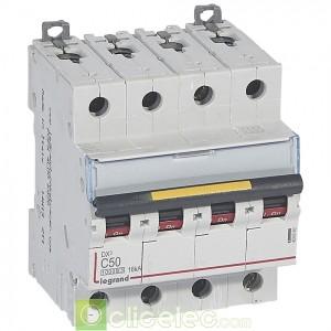 DX3 4P C50 10000A/16KA 409360 Legrand Disjoncteurs PH+N