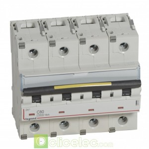 DX3 4P C80 10000A/16KA 409362 Legrand Disjoncteurs PH+N