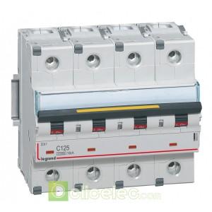 DX3 4P C125 10000A/16KA 409364 Legrand Disjoncteurs PH+N