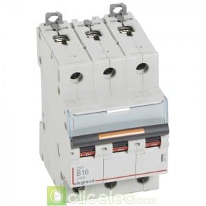 DX3 3P B16 25KA 409729 Legrand Disjoncteurs PH+N