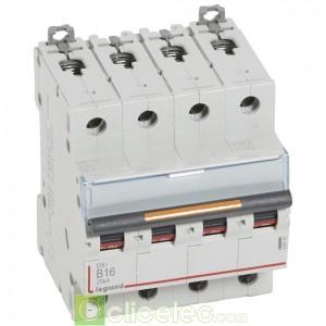 DX3 4P B16 25KA 409742 Legrand Disjoncteurs PH+N