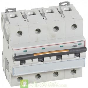DX3 4P B40 25KA 409746 Legrand Disjoncteurs PH+N