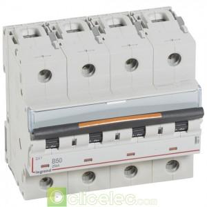DX3 4P B50 25KA 409747 Legrand Disjoncteurs PH+N