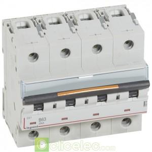 DX3 4P B63 25KA 409748 Legrand Disjoncteurs PH+N