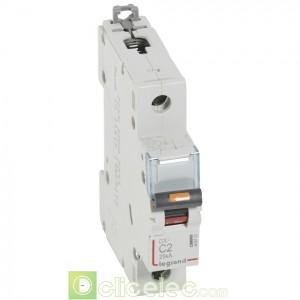 DX3 1P C2 25KA 409752 Legrand Disjoncteurs PH+N