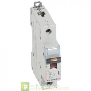 DX3 1P C10 25KA 409754 Legrand Disjoncteurs PH+N