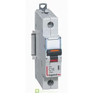 DX3 1P C16 25KA 409755 Legrand Disjoncteurs PH+N