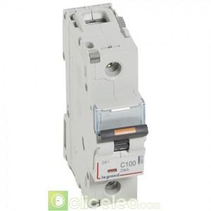 DX3 1P C100 25KA 409763 Legrand Disjoncteurs PH+N