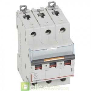 DX3 3P C2 25KA 409778 Legrand Disjoncteurs PH+N
