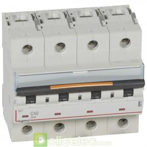 DX3 4P C40 25KA 409798 Legrand Disjoncteurs PH+N