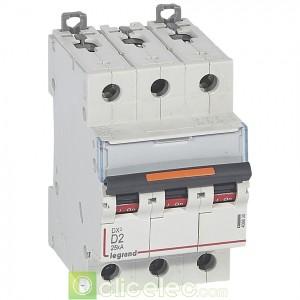 DX3 3P D2 25KA 409830 Legrand Disjoncteurs PH+N