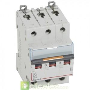 DX3 3P D6 25KA 409831 Legrand Disjoncteurs PH+N