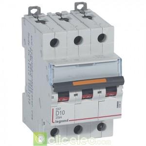 DX3 3P D10 25KA 409832 Legrand Disjoncteurs PH+N