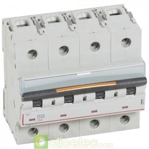 DX3 4P D32 25KA 409849 Legrand Disjoncteurs PH+N