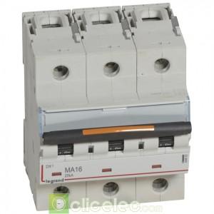DX3 3P MA16 25KA 409882 Legrand Disjoncteurs PH+N