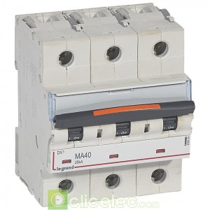 DX3 3P MA40 25KA 409884 Legrand Disjoncteurs PH+N