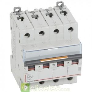 DX3 4P MA4 25KA 409888 Legrand Disjoncteurs PH+N