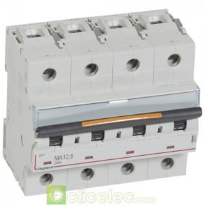 DX3 4P MA12.5 25KA 409891 Legrand Disjoncteurs PH+N