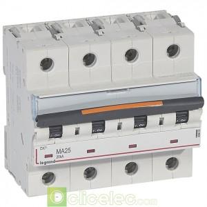 DX3 4P MA25 25KA 409893 Legrand Disjoncteurs PH+N