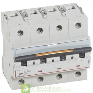 DX3 4P MA40 25KA 409894 Legrand Disjoncteurs PH+N