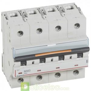 DX3 4P MA63 25KA 409895 Legrand Disjoncteurs PH+N