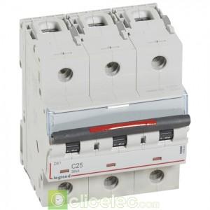 DX3 3P C25 36KA 410023 Legrand Disjoncteurs PH+N