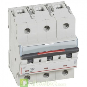 DX3 3P C40 36KA 410025 Legrand Disjoncteurs PH+N