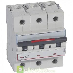 DX3 3P C50 36KA 410026 Legrand Disjoncteurs PH+N