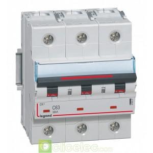DX3 3P C63 36KA 410027 Legrand Disjoncteurs PH+N