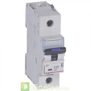 DX3 4P C25 36KA 410036 Legrand Disjoncteurs PH+N