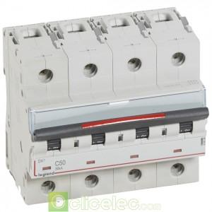 DX3 4P C50 36KA 410039 Legrand Disjoncteurs PH+N