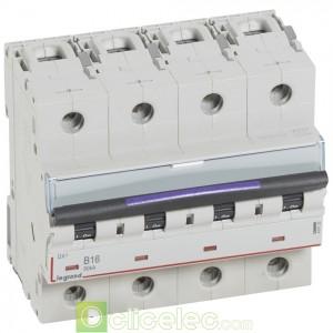 DX3 4P B16 50KA 410122 Legrand Disjoncteurs PH+N