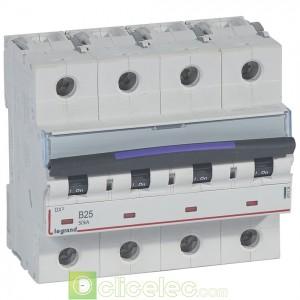 DX3 4P B25 50KA 410124 Legrand Disjoncteurs PH+N