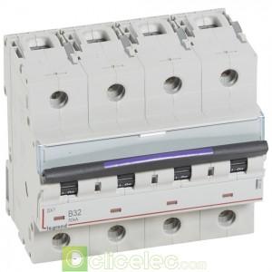 DX3 4P B32 50KA 410125 Legrand Disjoncteurs PH+N
