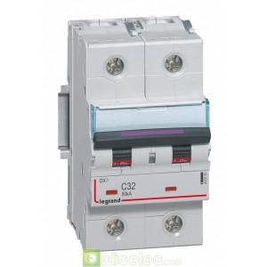DX3 2P C32 50KA 410151 Legrand Disjoncteurs PH+N