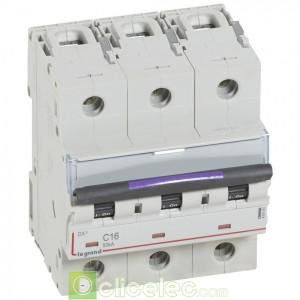 DX3 3P C16 50KA 410161 Legrand Disjoncteurs PH+N