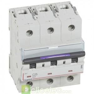 DX3 3P C25 50KA 410163 Legrand Disjoncteurs PH+N