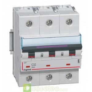 DX3 3P C32 50KA 410164 Legrand Disjoncteurs PH+N
