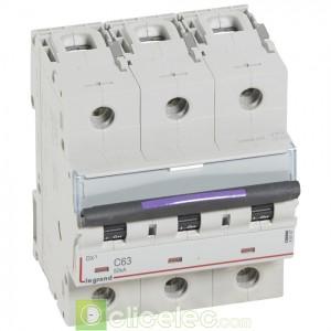DX3 3P C63 50KA 410167 Legrand Disjoncteurs PH+N
