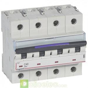 DX3 4P C40 50KA 410178 Legrand Disjoncteurs PH+N