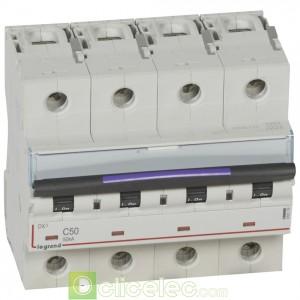 DX3 4P C50 50KA 410179 Legrand Disjoncteurs PH+N