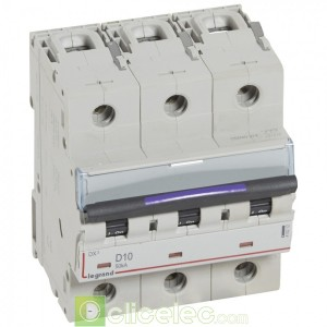 DX3 3P D10 50KA 410212 Legrand Disjoncteurs PH+N