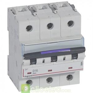 DX3 3P D16 50KA 410213 Legrand Disjoncteurs PH+N