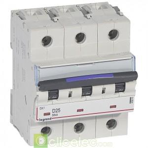 DX3 3P D25 50KA 410215 Legrand Disjoncteurs PH+N