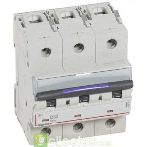 DX3 3P D32 50KA 410216 Legrand Disjoncteurs PH+N
