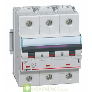 DX3 3P D40 50KA 410217 Legrand Disjoncteurs PH+N